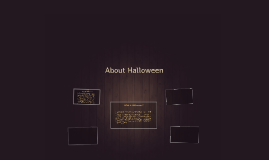 About Halloween