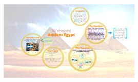 Copy of Ancient Egypt Webquest