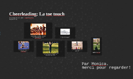 French Tache Final: Cheerleading