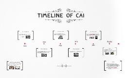 Timeline of CAI