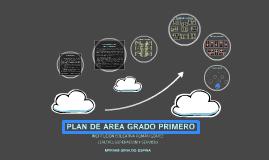 Copy of PLAN DE ÁREA GRADO PRIMERO