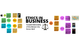 Copy of WHAT ARE BUSINESS ETHICS