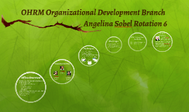 OHRM Organizational Development Branch