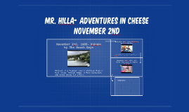 Hilla Birthday Presentation MMC Period 6