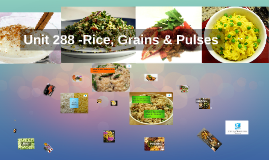 Unit 288 -Rice, Grains & Pulses