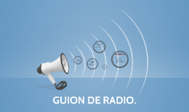 GUION DE RADIO.
