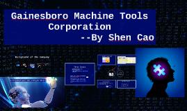 gainesboro machine tools corporation