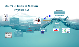 Phys 1.2 - Unit 9 - Fluids in Motion