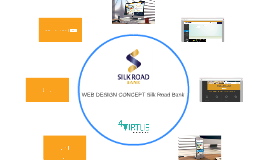 WEB DESIGN CONCEPT Silk Road Bank