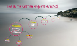 How did the Cristian kingdoms advance?