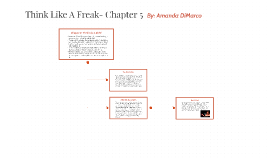 Think Like A Freak- Chapter 5