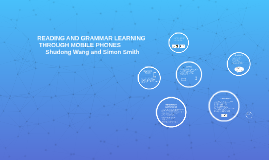 READING AND GRAMMAR LEARNING