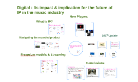 USW Digital : Its impact & implication for the future of IP in