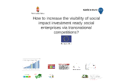 How to increase the visibility of social impact investment r