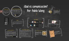 ¿Qué es comunicación?