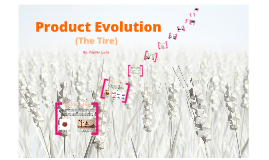 Copy of Product Evolution