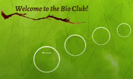 Welcome to the Bio Club!
