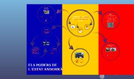 TREBALL: ELS PODERS DE  L'ESTAT ANDORRÀ