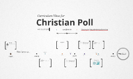 Timeline Prezumé by Christian Poll