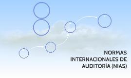 NORMAS INTERNACIONALES DE AUDITORIA (NIAS)