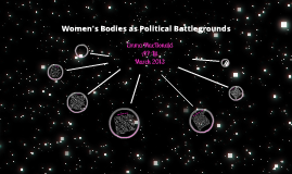 Women's Bodies as Political Battlegrounds