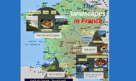 The landscapes in France