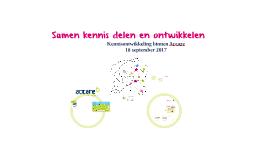 Introductiebijeenkomst 27-10-2016
