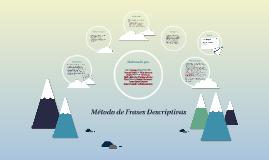 Copy of Método de Frases Descriptivas