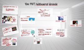 IKT, nätbaserat lärande - Karlberg.