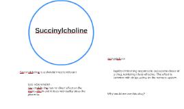 Succinylcholine