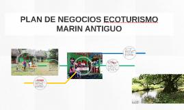 PLAN DE NEGOCIOS ECOTURISMO MARIN ANTIGUO