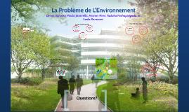 Le Projet De L'Environnement