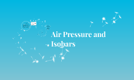 Copy of Air Pressure and Isobars