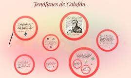 Jenófanes de Colofón.