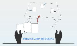 PERESENTACION DE COCINA