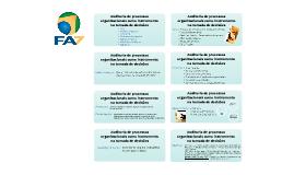 Auditoria de Processos Organizacionais como Instrumento na Tomada de Decisões