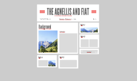 THE AGNELLIS AND FIAT