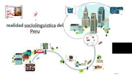 realidad sociolinguistica del Peru