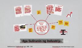 Copy of Mga Suliranin ng Industriya