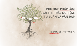 Copy of PHƯƠNG PHÁP LÀM BÀI THI: TRẮC NGHIỆM, TỰ LUẬN VÀ VẤN ĐÁP