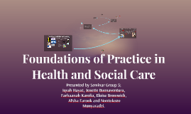 Copy of Foundations of Practice in Health and Social Care