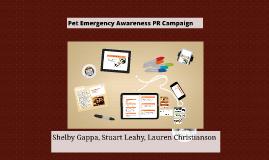 Emergency Preparedness Campaign-Pets