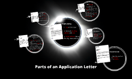 Copy of Parts of an Application Letter
