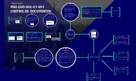 PNO-ENO-002-01-V01 CONTROL DE  DOCUMENTOS.
