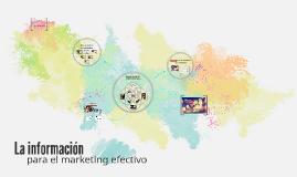 Copy of La Informacion para la Mercadotecnia Efectiva