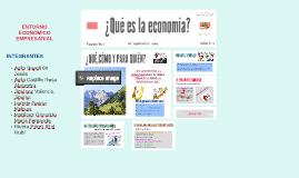 Copy of Copy of ¿Qué es la economía?