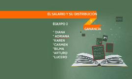 EL SALARIO Y SU DISTRIBUCION