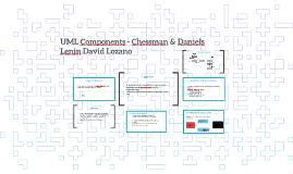 UML Components - Chessman & Daniels
