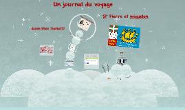 Un journal de voyage - St' Pierre et Miquelon