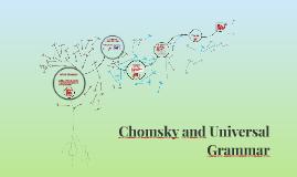 Chomsky and Universal Grammar in SLA